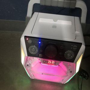 LED Bluetooth Karaoke W/ CD for Sale in Las Vegas, NV