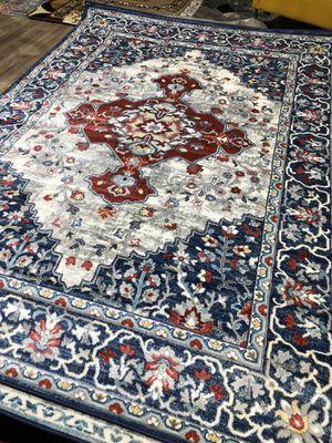New blue rug size 8x10 nice carpet for Sale in Burke, VA