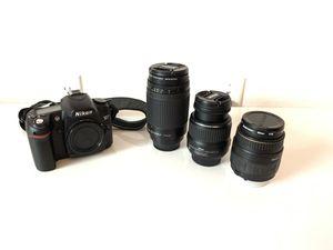 Nikon D80 plus lenses for Sale in Santa Ana, CA