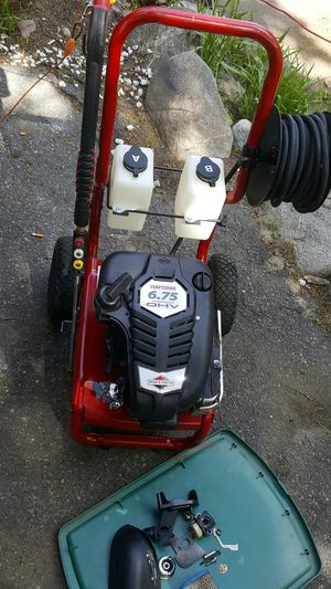 Craftsman 6.75hp gas pressure washer.. needs carb rebuilt and have the pieces for Sale in Reading, MA