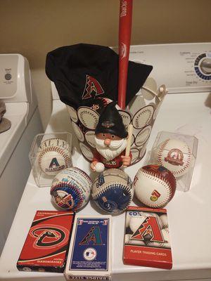 Arizona Diamondbacks baseball collectibles for Sale in Tempe, AZ