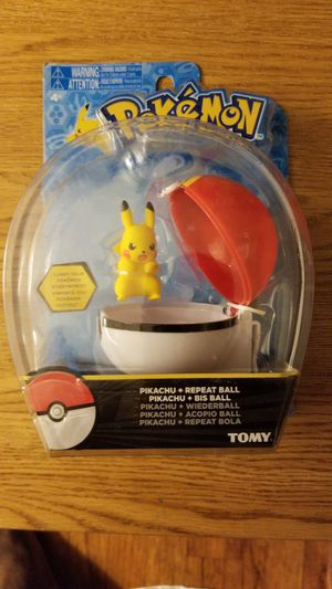 Pokemon Pikachu Repeat Ball New for Sale in Baltimore, MD