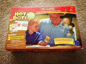 Brand new Hot Dots educational interactive book set for Sale in Lincolnia, VA