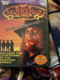 Wwf Survivor Series 1994/w Preshow for Sale in Chicago,  IL