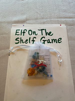 Game Bag for Elf on the Shelf!! for Sale in Centralia, WA