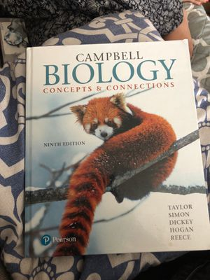 Campbell biology concept and connections 9th edition for Sale in Lincoln Acres, CA