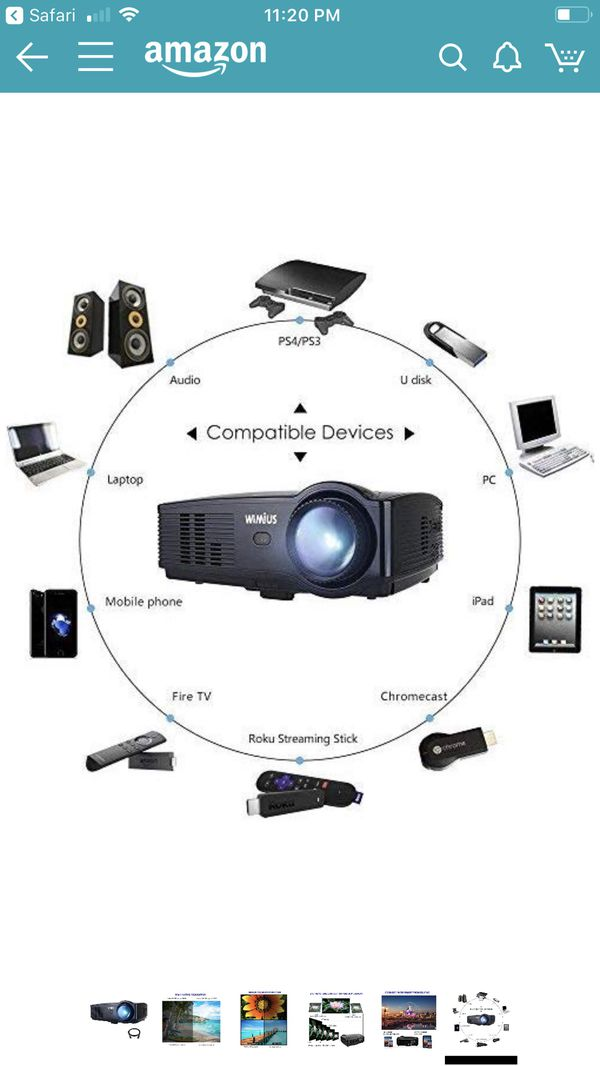 WIMIUS LED PROJECTOR