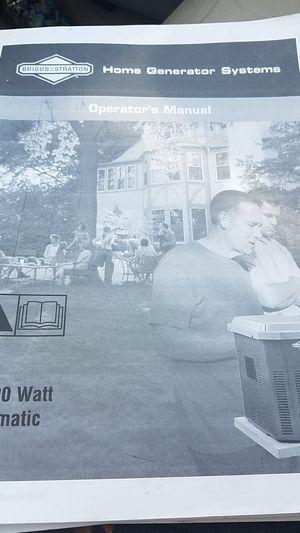 10000 watt automatic home generator system for Sale in Saint George, VA