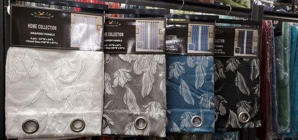 Curtains, pillows, sheets, Sofa cover