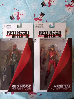 DC Comics The New 52 Red Hood and Arsenal Action Figures for Sale in Warren, MI