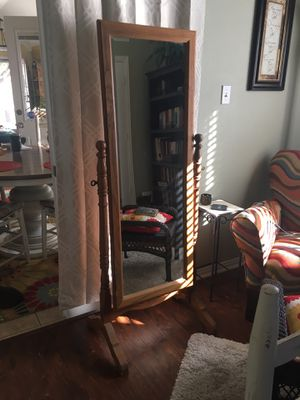 Antique Full-length Mirror for Sale in Fort Worth, TX