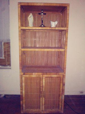 Antique wicker cabinet for Sale in Deerfield Beach, FL