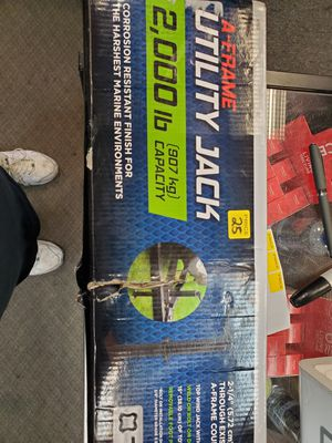 Trailer Jack. A frame new in box for Sale in Redlands, CA