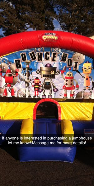 Jump house for sale! It's in great condition and used a few times! I don't have space for it anymore! for Sale in Santa Maria, CA