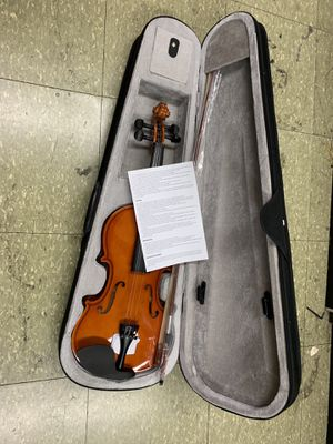 New violin full size 4/4 adult with hard case for Sale in San Francisco, CA