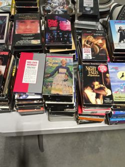 Over 200 VCR Tapes They Are A Dollar A Piece for Sale in Middleburg Heights,  OH