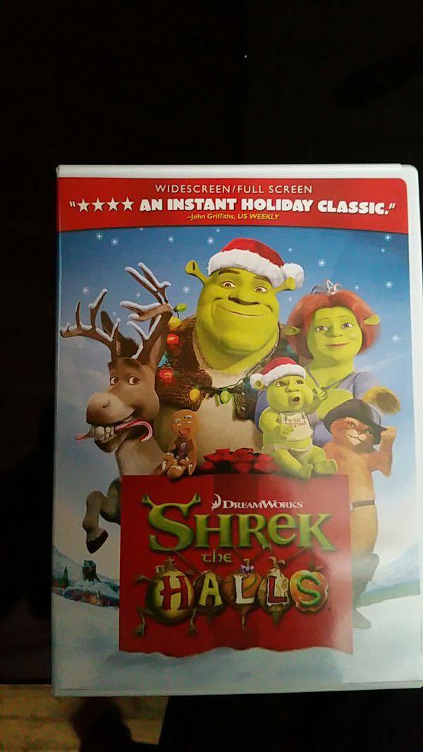 Shrek the Halls DVD