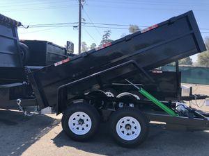8x12x2 DUMP TRAILER for Sale in La Verne, CA