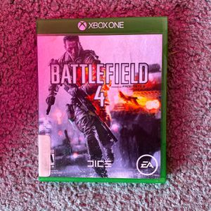 Xbox one battlefield 4 for Sale in Marksville, LA