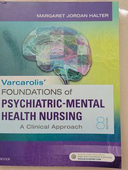 Varcarolis' Foundations of Psychiatric-Mental Health Nursing: A Clinical 8th Edition for Sale in Littleton,  CO