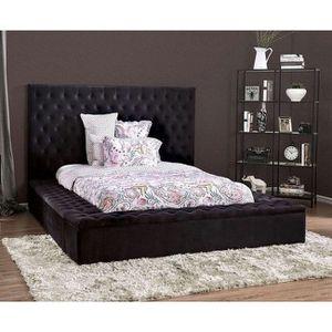 Davida Black Upholstered Bed for Sale in York, PA