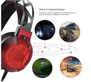 Brand New In Box Pro Gaming Headset Noise Cancelling Headphones with 7.1 Surround Sound and Built-in Mic for PS4 Nintendo PC MAC, Lightweight and Com for Sale in Hayward, CA