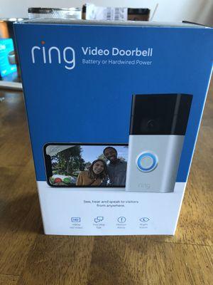 RING VIDEO DOOR BELL SECURITY CAMERA BRAND NEW for Sale in Chesapeake, VA