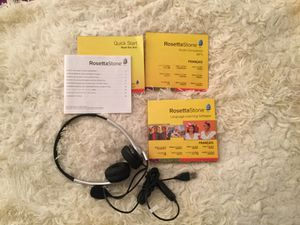 NEW Rosetta Stone French for Sale in New York, NY