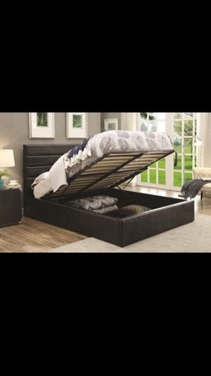 Storage bed frame for Sale in Dallas, TX