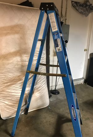 Werner 6 Step collapsible lightweight ladder for Sale in Santa Ana, CA