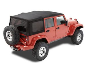 Jeep Wrangler OEM Soft Top Black Sunrider for Sale in Bremerton, WA