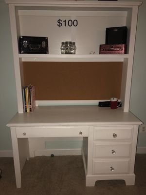 Desk with hutch for Sale in Ashburn, VA