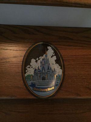 Disney Cinderella Glass Plaque for Sale in Murfreesboro, TN