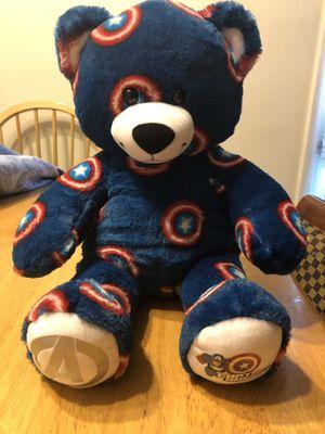 Captain America Avengers Build a Bear Plush for Sale in Herndon, VA