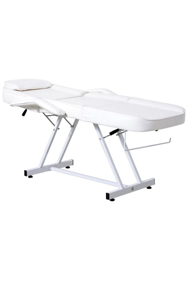White Tattoo table- perfect for eyelash technicians