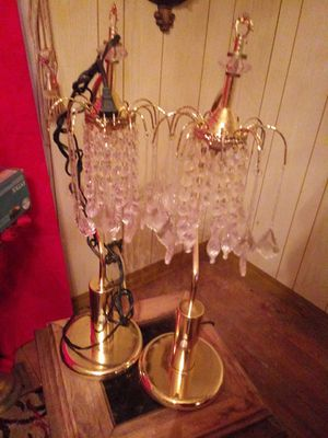 Glass tear drop lamps for Sale in Tulsa, OK