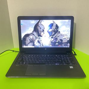 . Poweful HP Zbook 15-G4 Laptop , 15 Inch , I7, 16GB Of RAM,512GB SSD, Wind 10,Nvidia graphics , Bad Battery ! for Sale in Arlington, TX