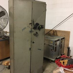 Old Metal Cabinet for Sale in Traverse City, MI