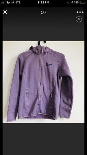 Patagonia purple inner fleece hoodie for Sale in Alexandria, VA