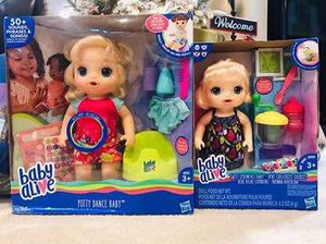 NEW Set of 2 Baby Alive Dolls for Sale in Centreville, VA