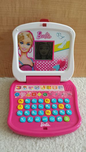 Barbie Little Learner Laptop - Eight Learning Activities for Sale in Saint Petersburg, FL