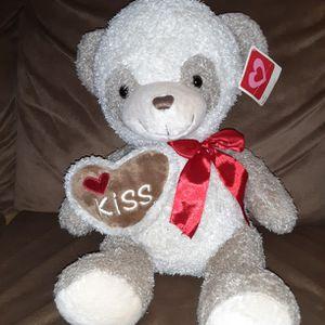 "Dan Dee Collectors Choice 14"" Cuddly Classic Friends Valentine Teddy Bear for Sale in Los Lunas, NM"