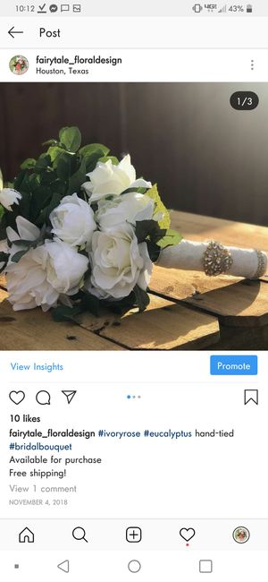 Wedding bouquet for Sale in Houston, TX