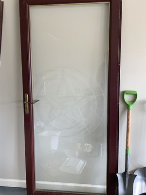 Front screen door with Star for Sale in Fort Worth, TX
