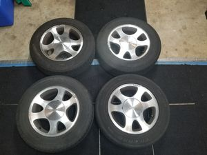Ford mustang tires and rims for Sale in Monrovia, MD
