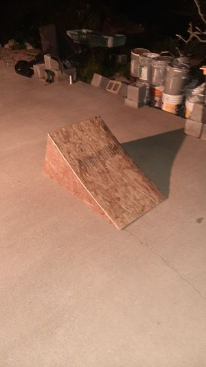 Wooden launch ramp for Skateboards, BMX, Scooters, etc... for Sale in Phoenix, AZ