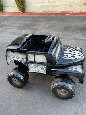 Grave diggers power wheels 12v battery for halloween for Sale in Santee, CA