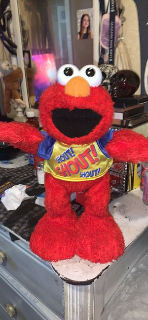 "Elmo shout doll ""works"" for Sale in Avis, PA"