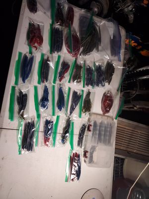 Soft plastic fishing lures for Sale in Lakewood, CO