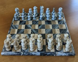 Chess marble set handmade for Sale in Chula Vista, CA